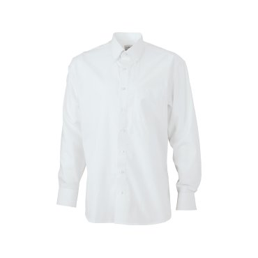 Camisa manga larga easy care hombre JN625 James Nicholson
