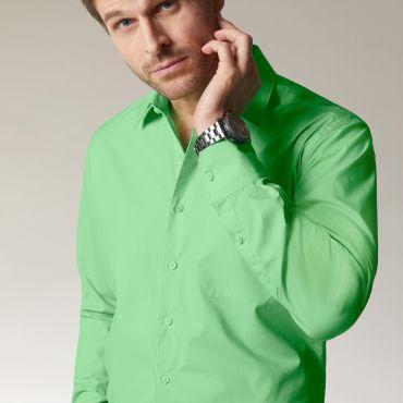 Camisa manga larga easy care hombre JN642 James Nicholson