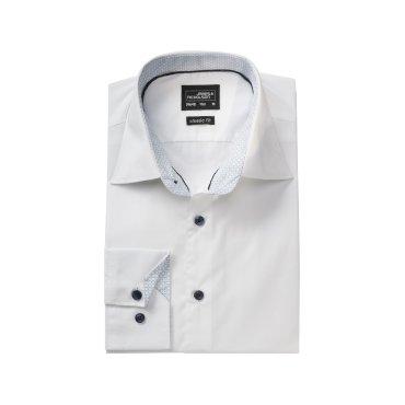 Camisa manga larga easy care hombre JN648 James Nicholson