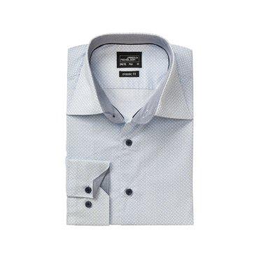 Camisa moteada manga larga easy care hombre JN670 James Nicholson