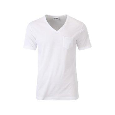 Camiseta orgánica con bolsillo hombre JN8004 James Nicholson