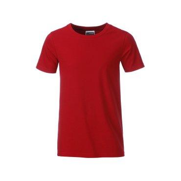 Camiseta orgánica niño JN8008B James Nicholson