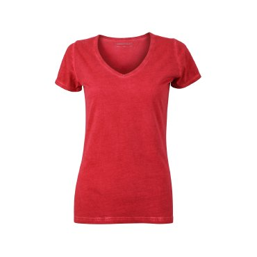 Camiseta básica spray print mujer JN975 James Nicholson