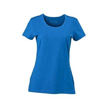 Camiseta básica slub mujer JN977 James Nicholson