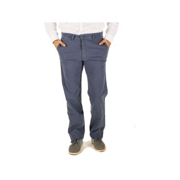 Pantalón chino azul hombre RINGO CAPITAN DENIM - WATUSI