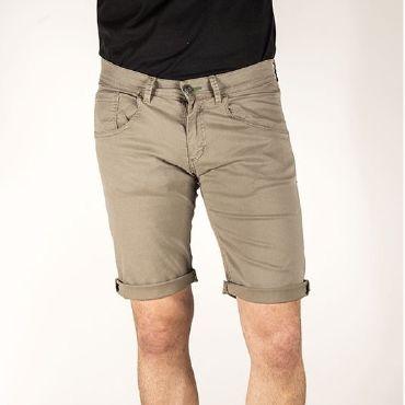 Pantalón corto clasico gris hombre MINGUS CAPITAN DENIM - WATUSI