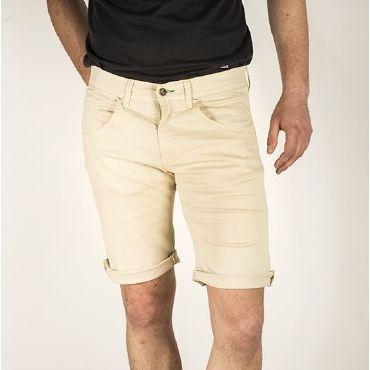 Pantalón corto clasico beige hombre MINGUS CAPITAN DENIM - WATUSI
