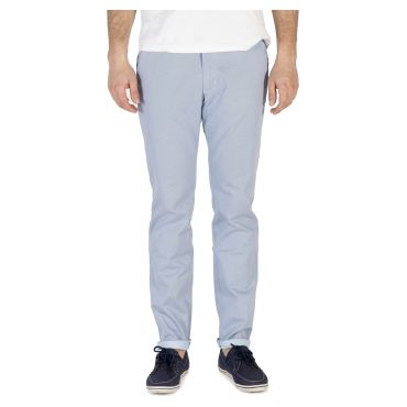 Pantalón chino estampado azul hombre HARPO CAPITAN DENIM - WATUSI