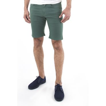 Bermuda denim verde hombre JAY CAPITAN DENIM - WATUSI