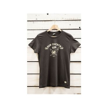 Camiseta serigrafiada run Chicken hombre CHIKEN CAPITAN DENIM - WATUSI