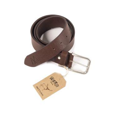 Cinturón de piel marrón hombre WATUSI CAPITAN DENIM - WATUSI