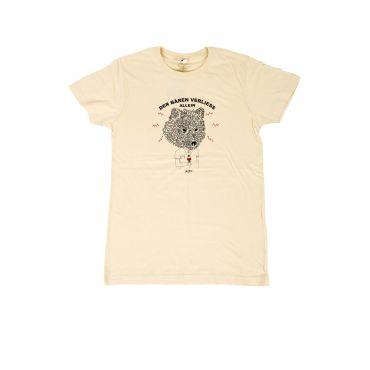Camiseta serigrafiada oso/Helado hombre OSO CAPITAN DENIM - WATUSI