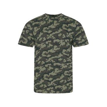 Camiseta de camuflaje unisex CAMO AWDIS JUST TS